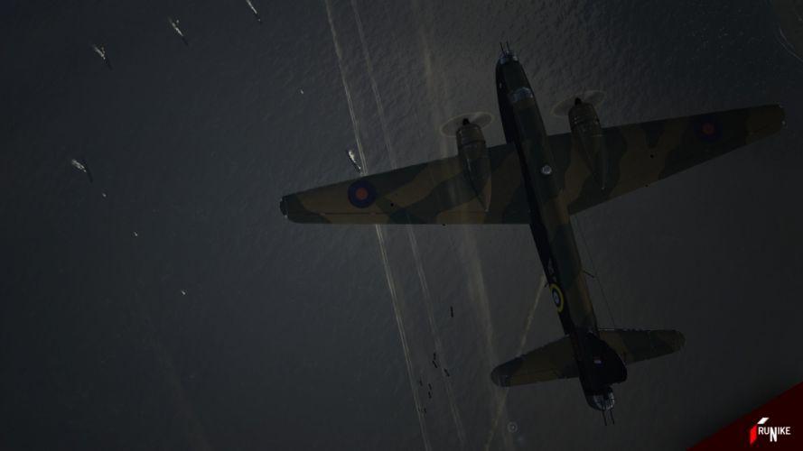 aircraft World War II War Thunder wallpaper