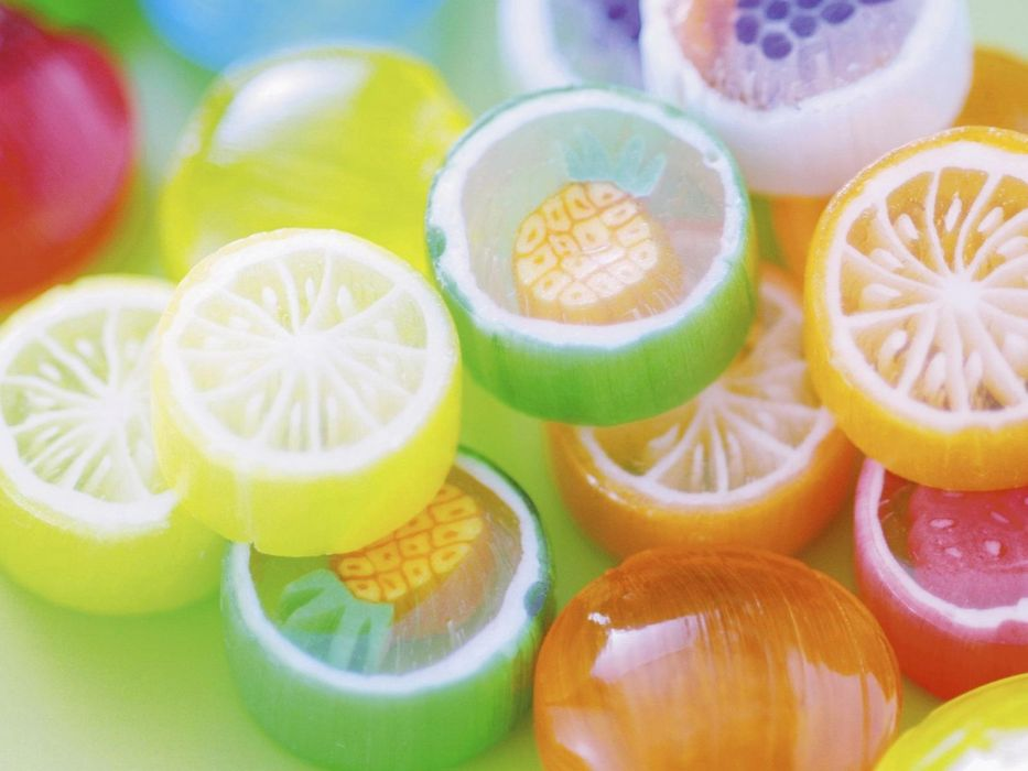 multicolor candies wallpaper