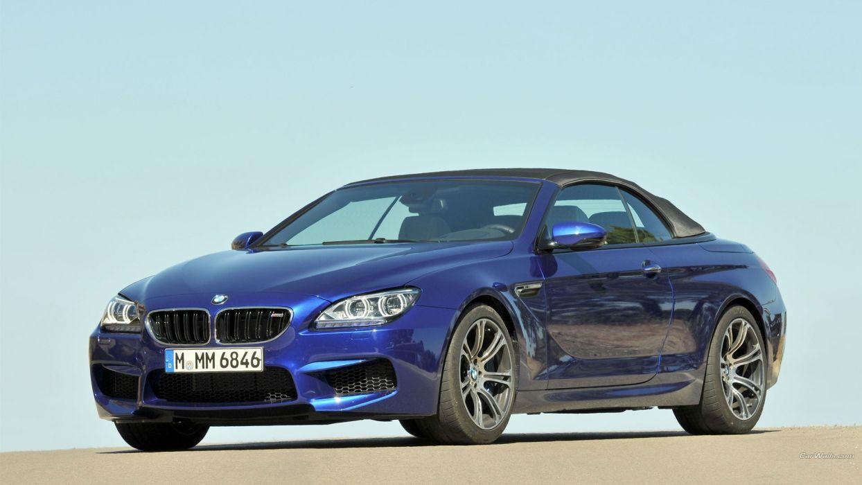 BMW cars convertible BMW M6 BMW M6 Convertible wallpaper