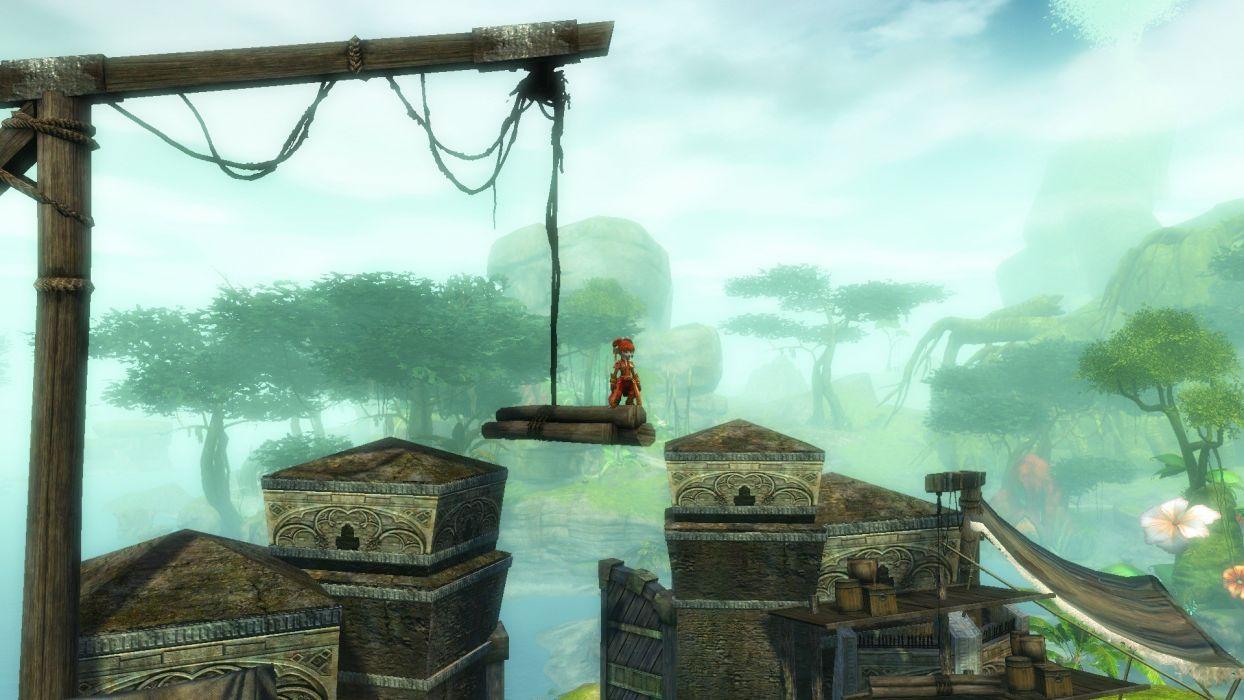 Guild Wars screenshots Asura pc games game wallpaper