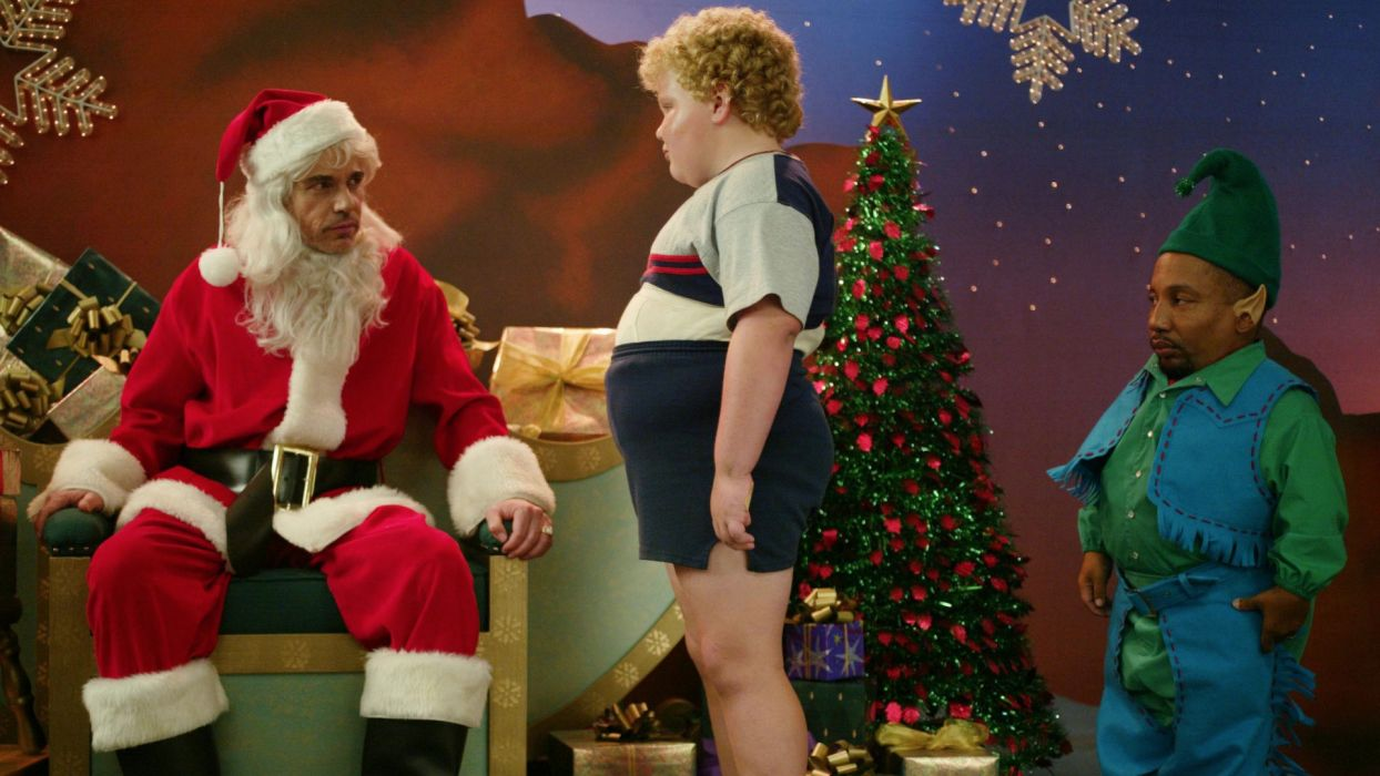 BAD-SANTA comedy christmas bad santa        g wallpaper