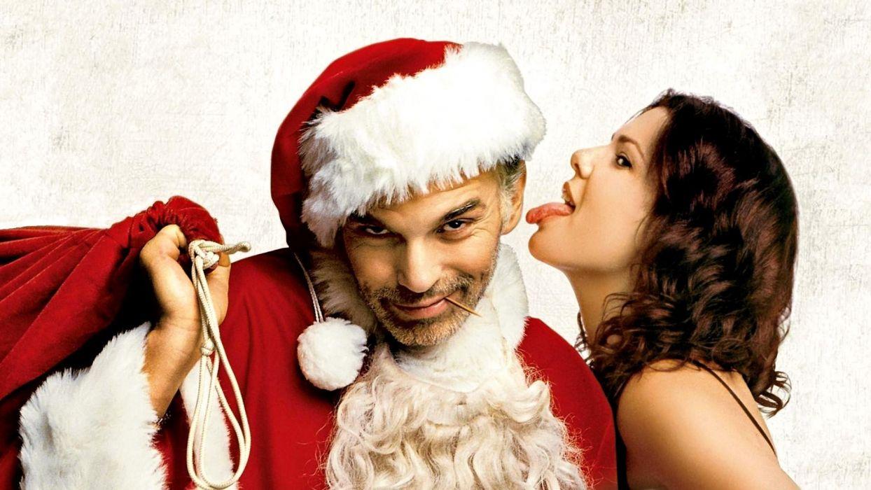 BAD-SANTA comedy christmas bad santa   f wallpaper