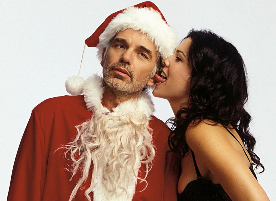 BAD-SANTA comedy christmas bad santa  g wallpaper