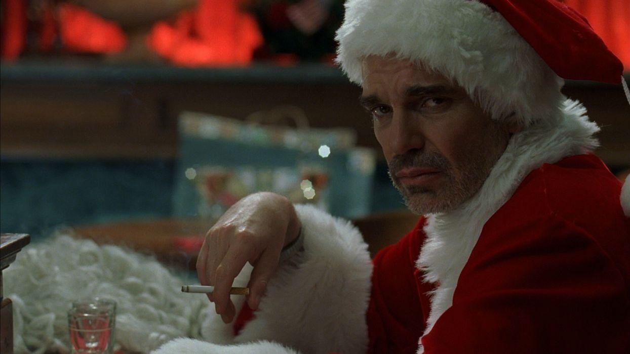 BAD-SANTA comedy christmas bad santa  e wallpaper