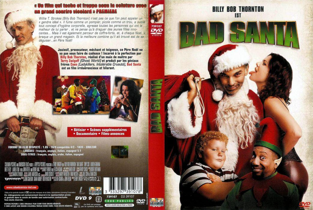BAD-SANTA comedy christmas bad santa poster       g wallpaper