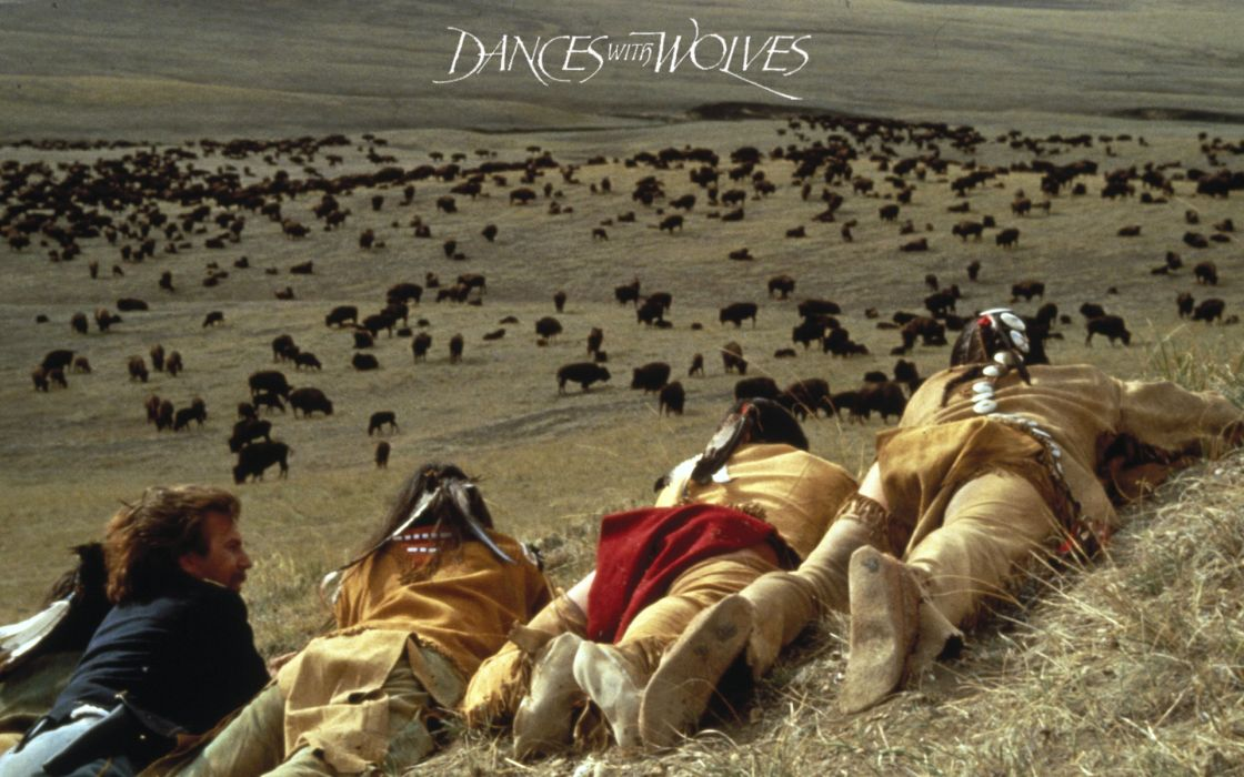 DANCES WITH WOLVES western drama    t wallpaper