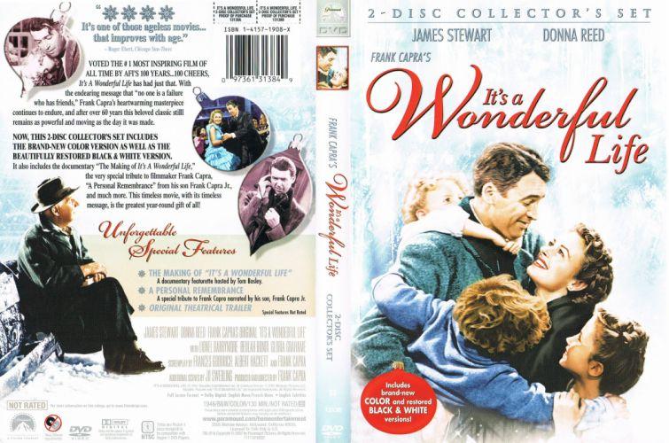 ITS-A-WONDERFUL-LIFE drama christmas holiday classic wonderful life poster gd wallpaper