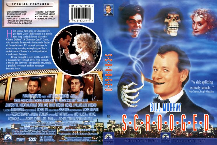 SCROOGED comedy christmas poster f wallpaper