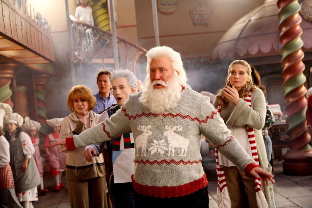 THE-SANTA-CLAUSE comedy christmas santa clause   ew wallpaper
