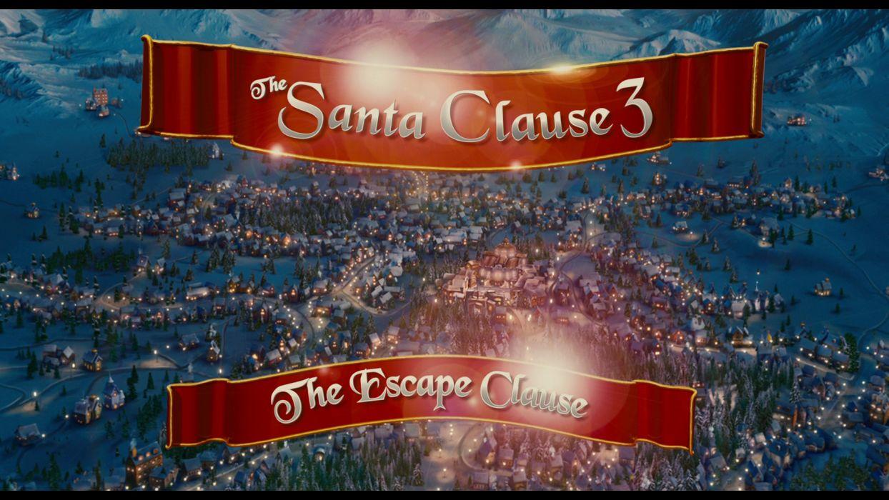 THE-SANTA-CLAUSE comedy christmas santa clause poster    g wallpaper