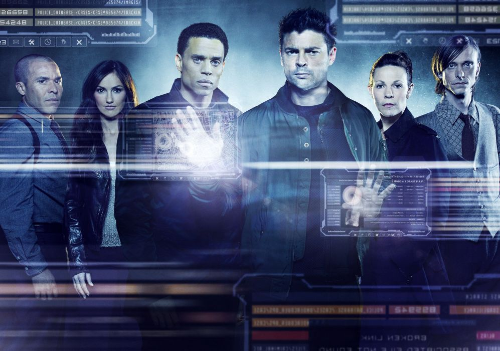 ALMOST HUMAN sci-fi action television       f wallpaper