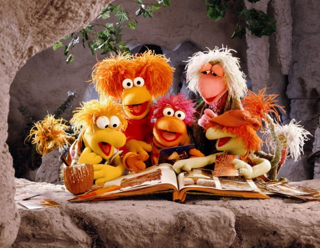 FRAGGLE ROCK muppets puppet comedy gd wallpaper