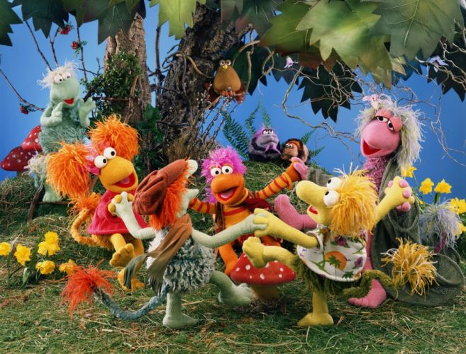 FRAGGLE ROCK muppets puppet comedy f wallpaper