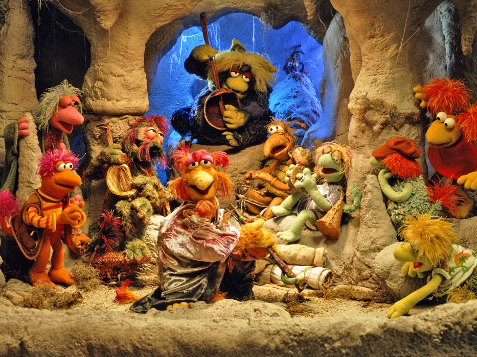 FRAGGLE ROCK muppets puppet comedy    g wallpaper