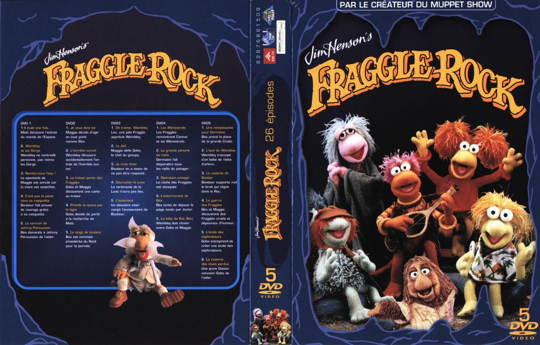 FRAGGLE ROCK muppets puppet comedy poster      g wallpaper