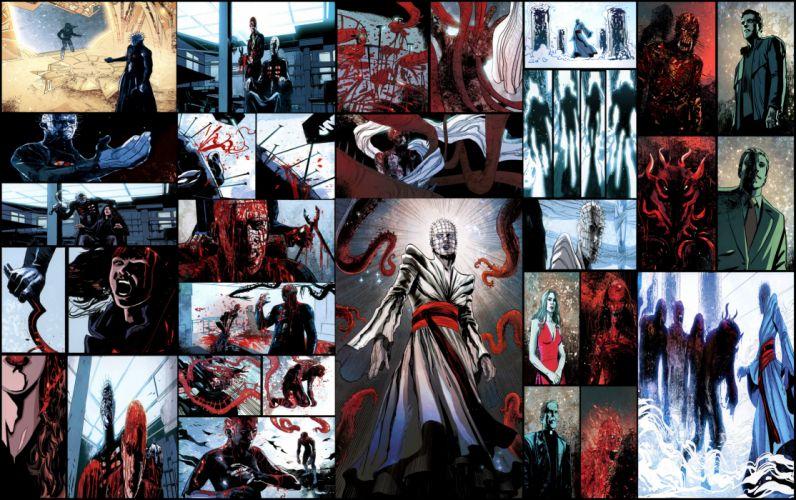 HELLRAISER horror dark comic h wallpaper