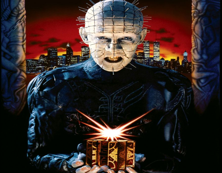 HELLRAISER horror dark demon        re wallpaper