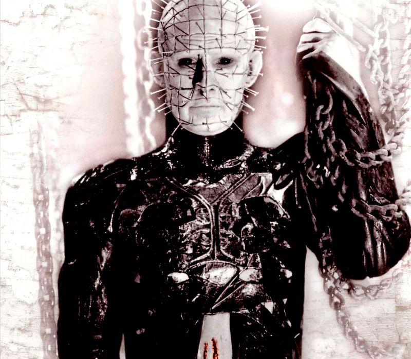 HELLRAISER horror dark demon blood        gd wallpaper