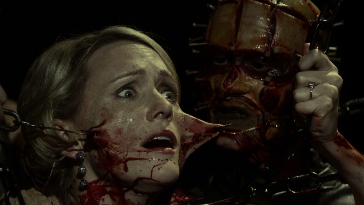 HELLRAISER horror dark demon blood   b wallpaper