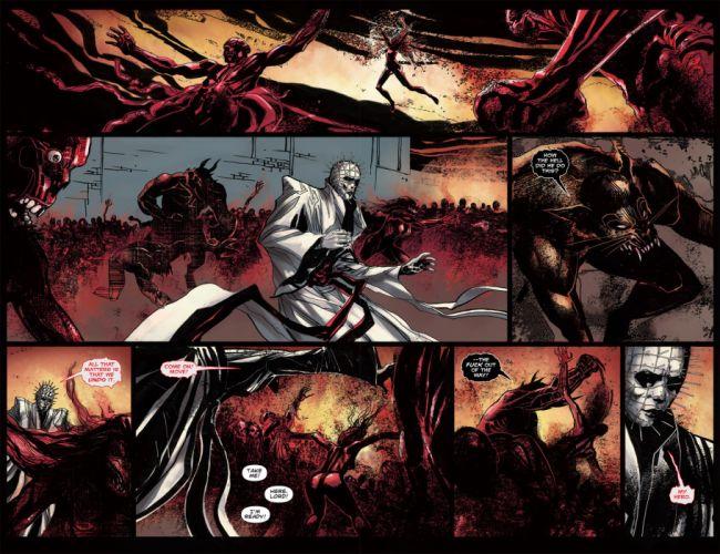 HELLRAISER horror dark demon comic g wallpaper