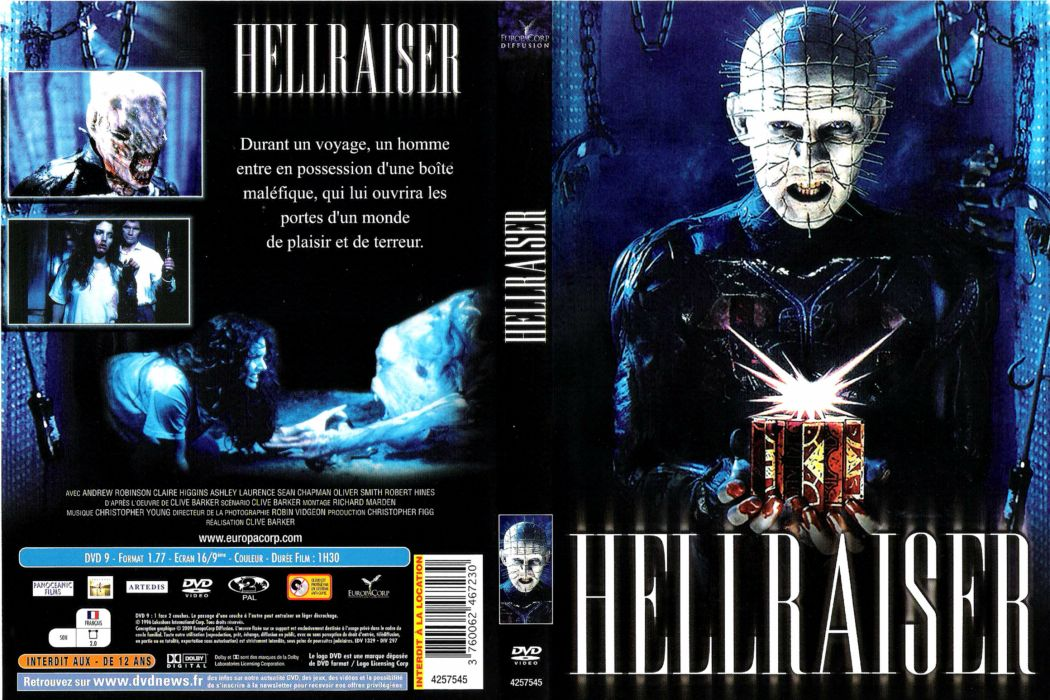HELLRAISER horror dark poster       gs wallpaper