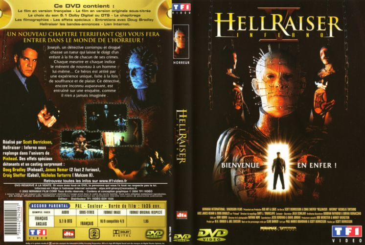 HELLRAISER horror dark poster da wallpaper