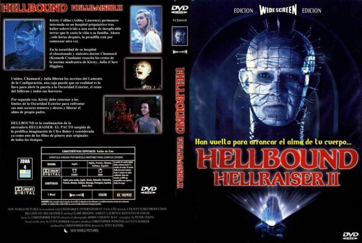 HELLRAISER horror dark poster c wallpaper