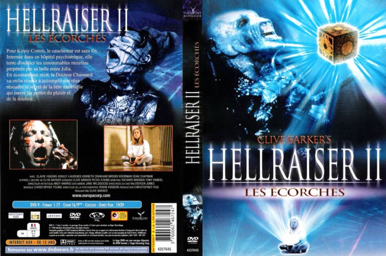 HELLRAISER horror dark poster dw wallpaper