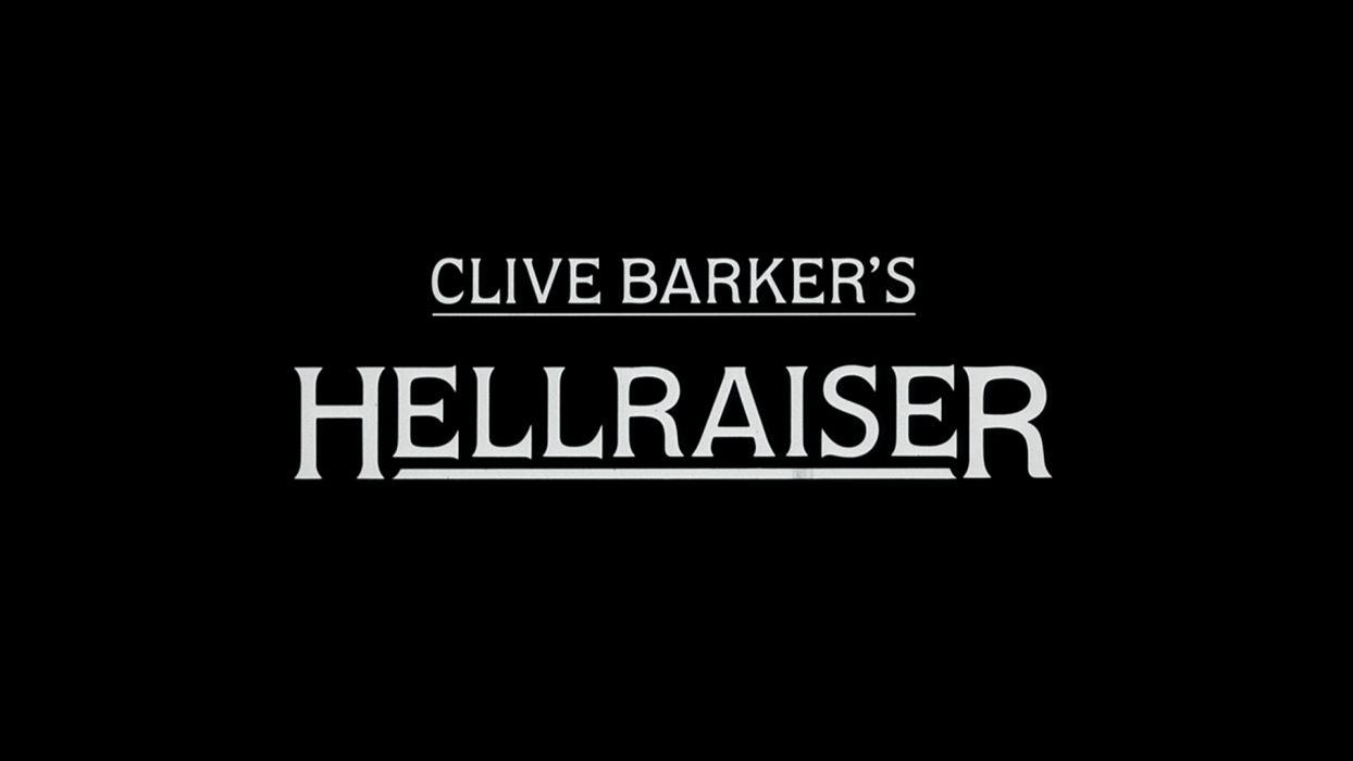 HELLRAISER horror dark poster  d wallpaper