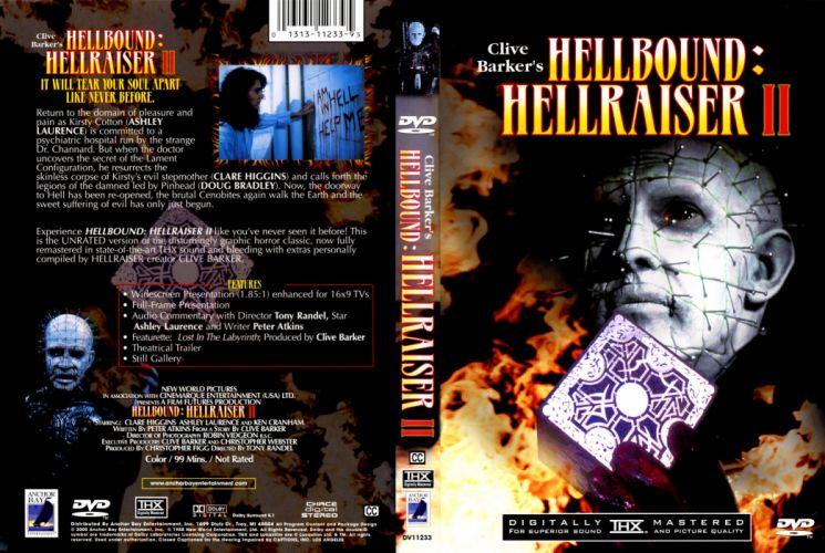 HELLRAISER horror dark poster dg wallpaper