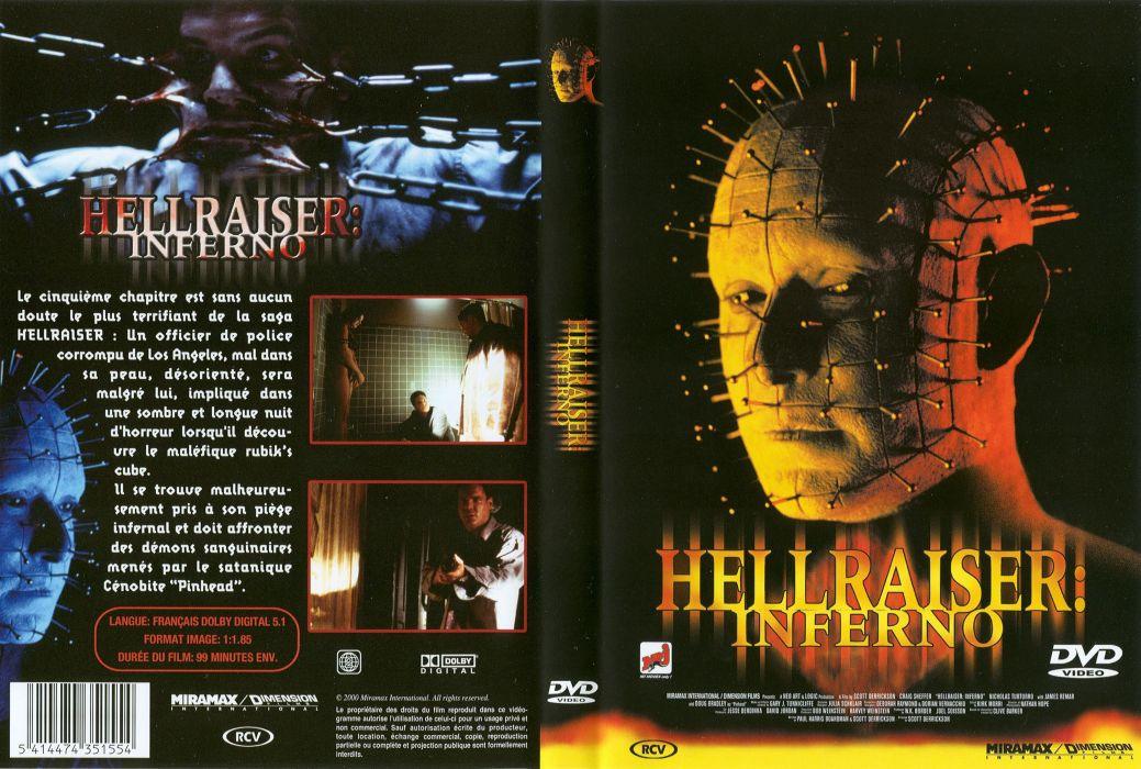 HELLRAISER horror dark poster g wallpaper