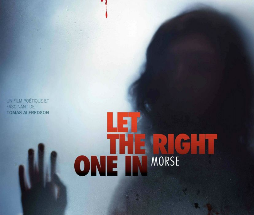 LET-THE-RIGHT-ONE-IN horror dark blood let right one poster  hf wallpaper