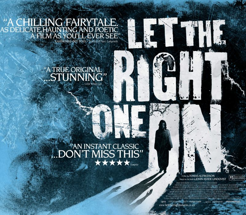LET-THE-RIGHT-ONE-IN horror dark blood let right one poster  r wallpaper
