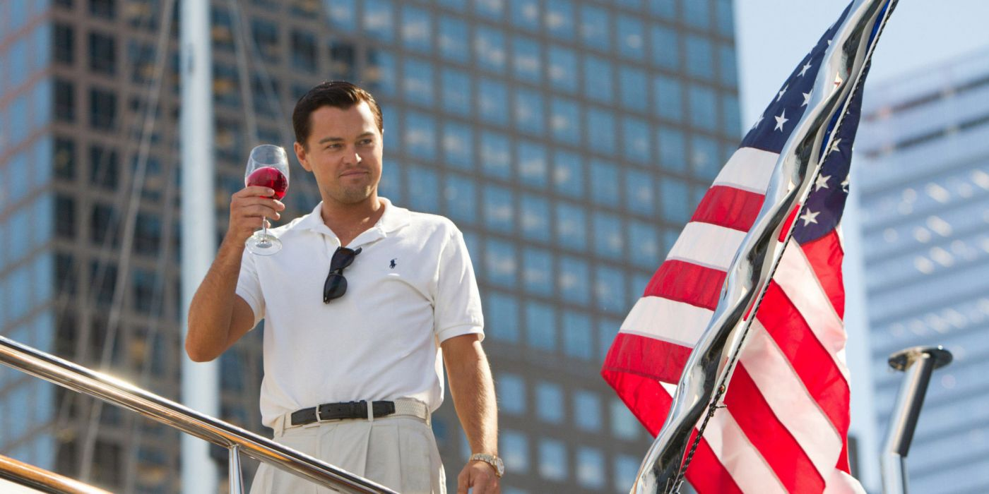 THE WOLF OF WALLSTREET biography comedy drama  h wallpaper
