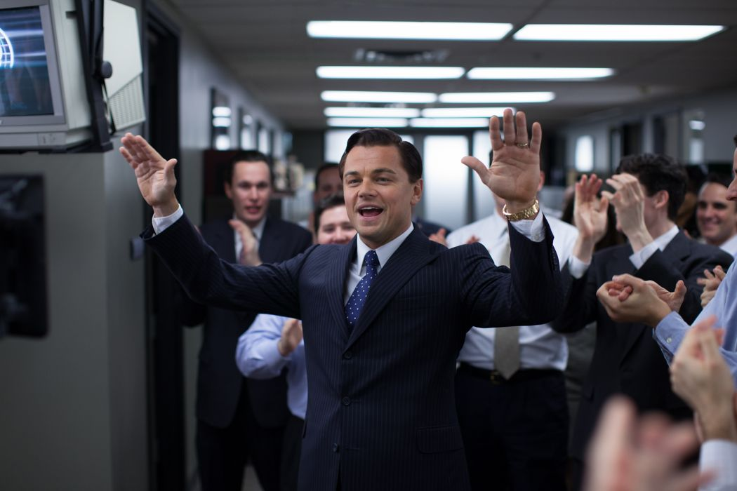 THE WOLF OF WALLSTREET biography comedy drama  g wallpaper