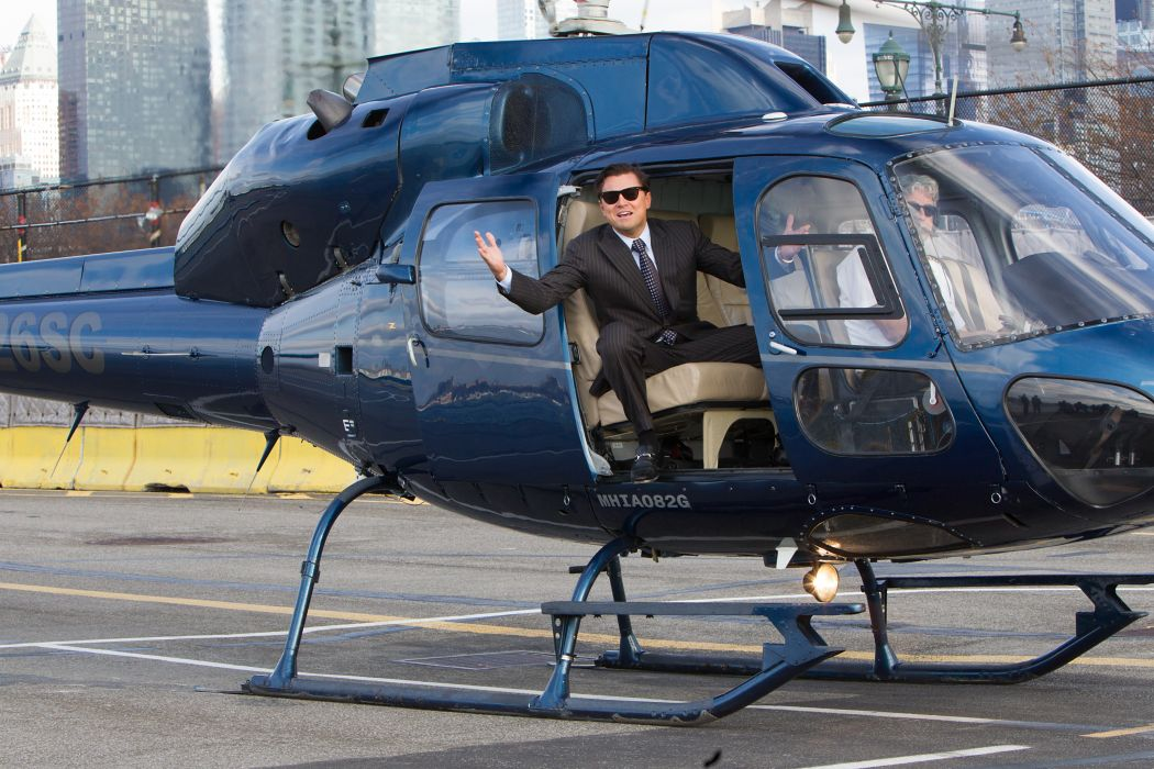 THE WOLF OF WALLSTREET biography comedy drama helicopter    f wallpaper