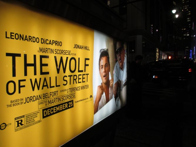 THE WOLF OF WALLSTREET biography comedy drama poster g wallpaper