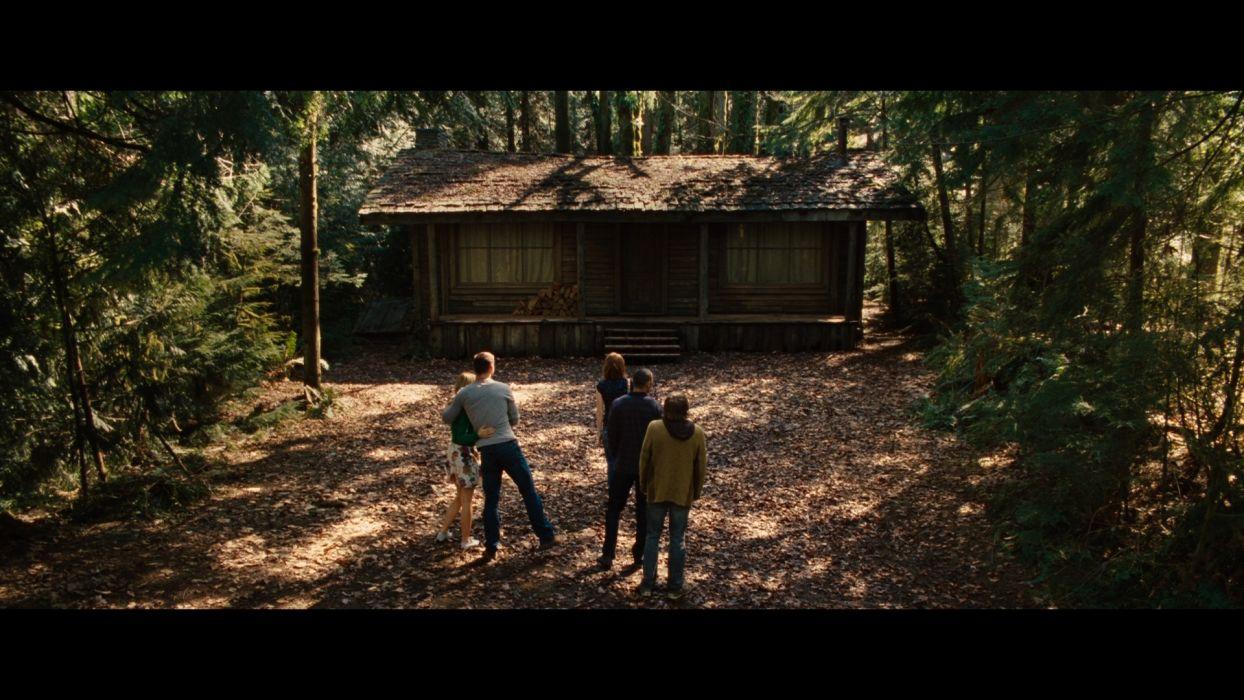 The Cabin In The Woods Dark Horror Cabin Woods Ty Wallpaper