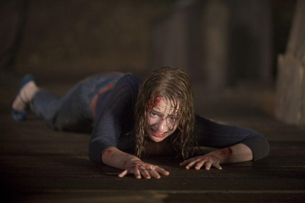 THE-CABIN-IN-THE-WOODS dark horror cabin woods blood  g wallpaper