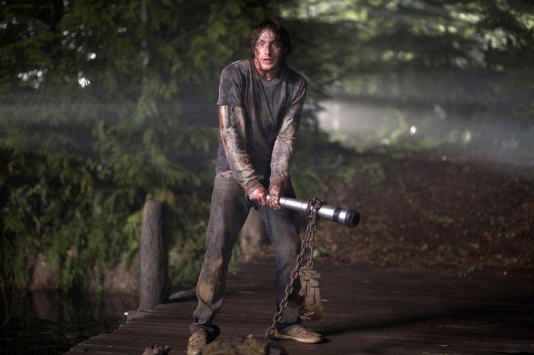 THE-CABIN-IN-THE-WOODS dark horror cabin woods blood t wallpaper
