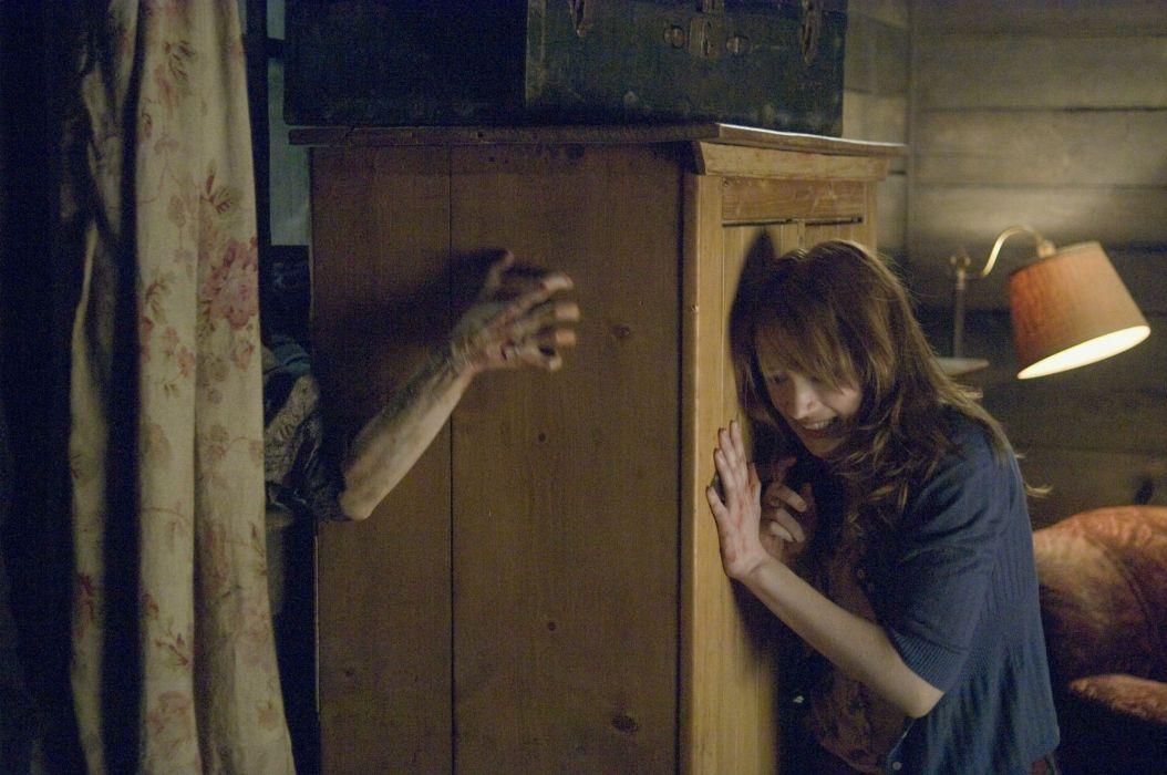 THE-CABIN-IN-THE-WOODS dark horror cabin woods poster hf wallpaper