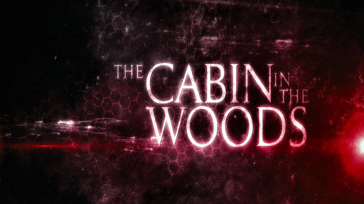 THE-CABIN-IN-THE-WOODS dark horror cabin woods poster   vb wallpaper