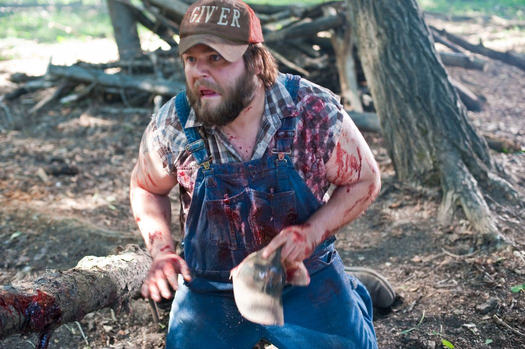 TUCKER-AND-DALE-VERSUS-EVIL comedy horror tucker dale evil blood   gj wallpaper