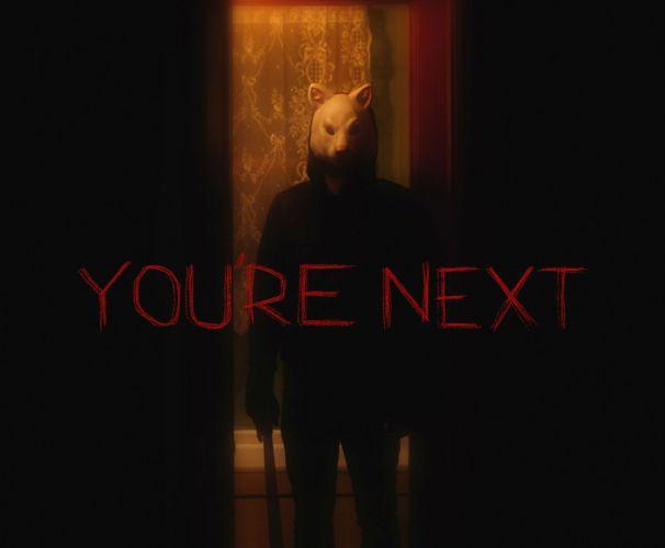 YOUR-NEXT dark horror your next poster gd wallpaper
