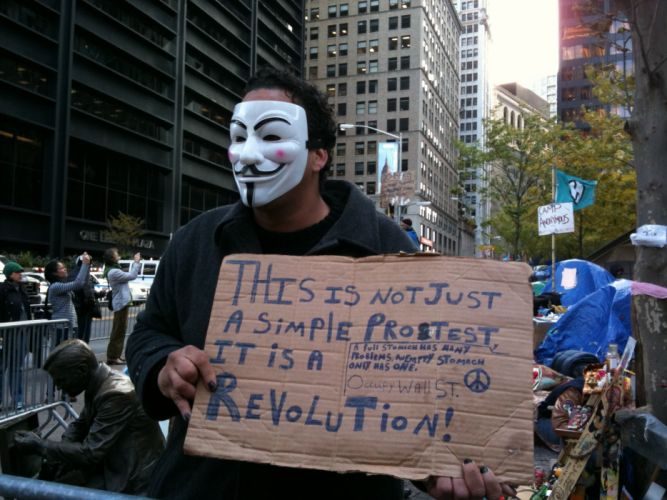 protest anarchy march crowd Anonymous f wallpaper