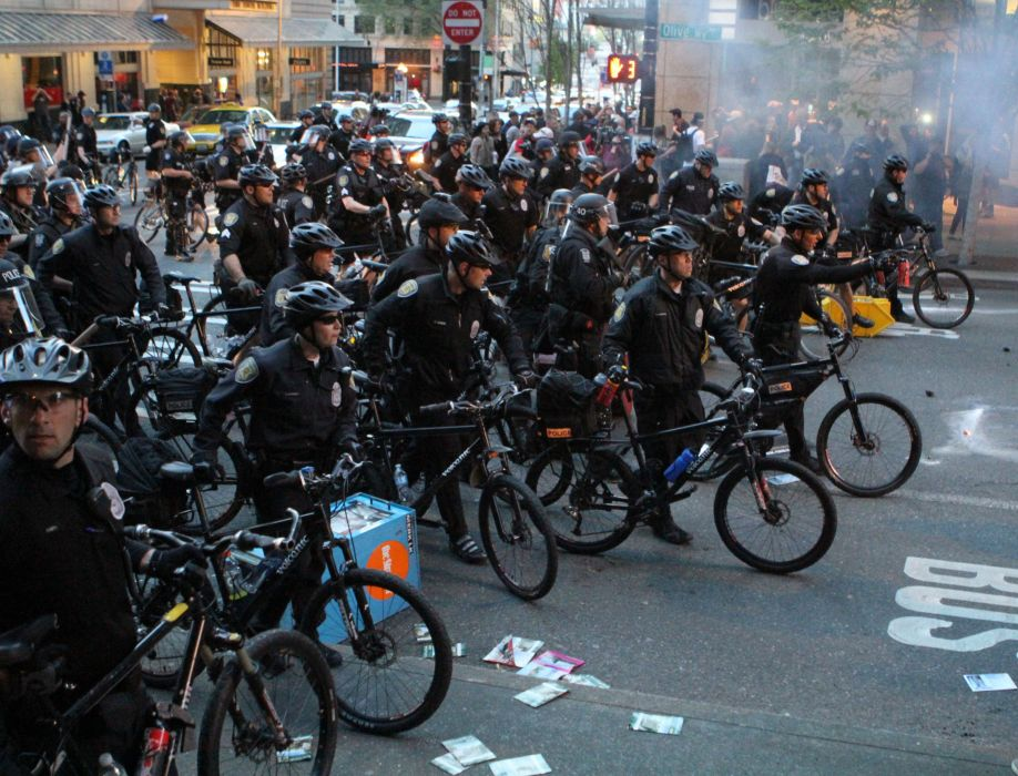 protest anarchy march crowd police  h wallpaper