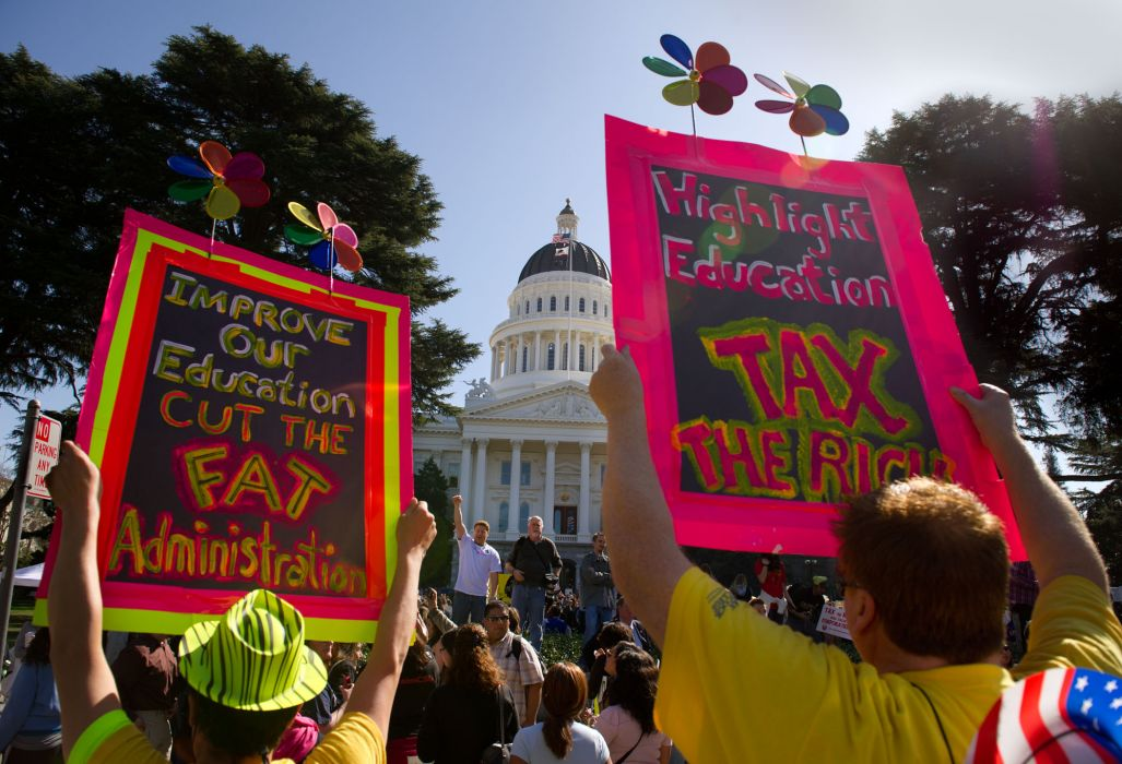 protest anarchy march crowd signs text    je_JPG wallpaper