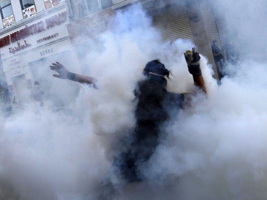 protest anarchy smoke      f wallpaper