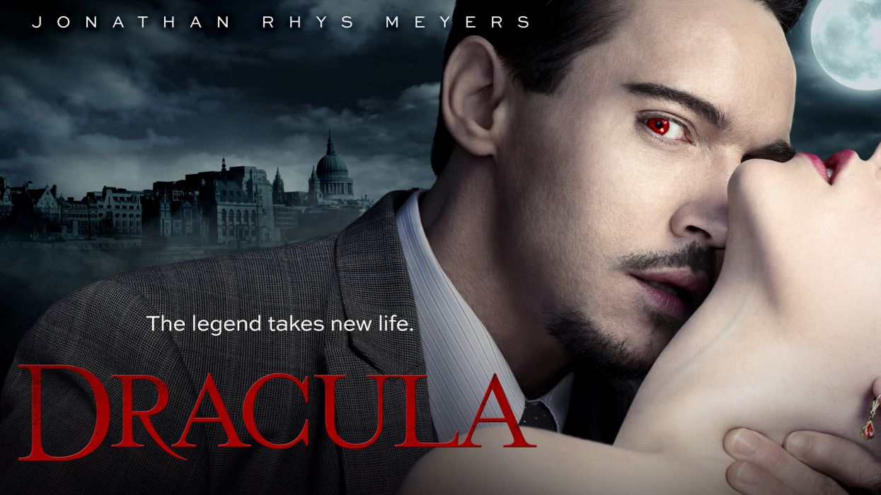 DRACULA vampire drama horror television poster        f wallpaper