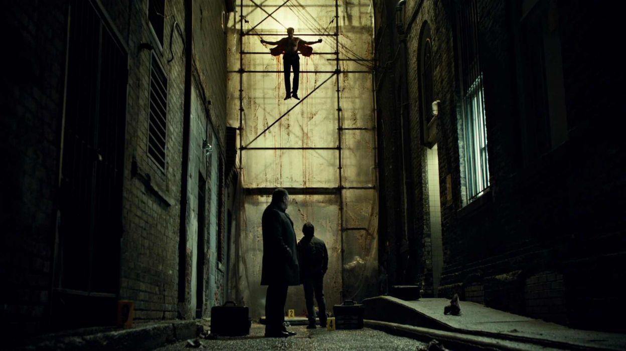 HANNIBAL drama horror television dark blood evil      h wallpaper